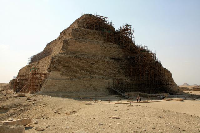 Pyramid of Djoser, Saqqara, Egypt