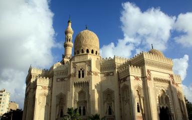El-Mursi Abul Abbas Mosque, Alexandria, Egypt
