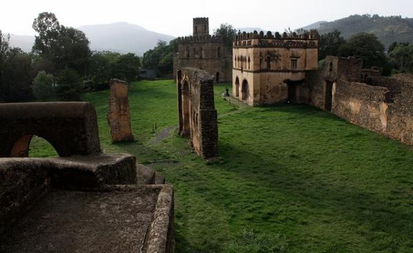 Fasil Ghebbi, Gondar, Ethiopia