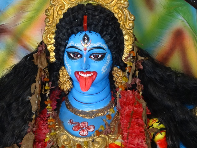 Goddess Kali, Sri Gopinath Geur Mondir, Kushtia, Bangladesh