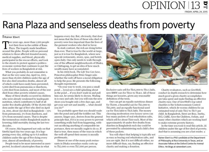Dhaka Tribune 23-04-2015