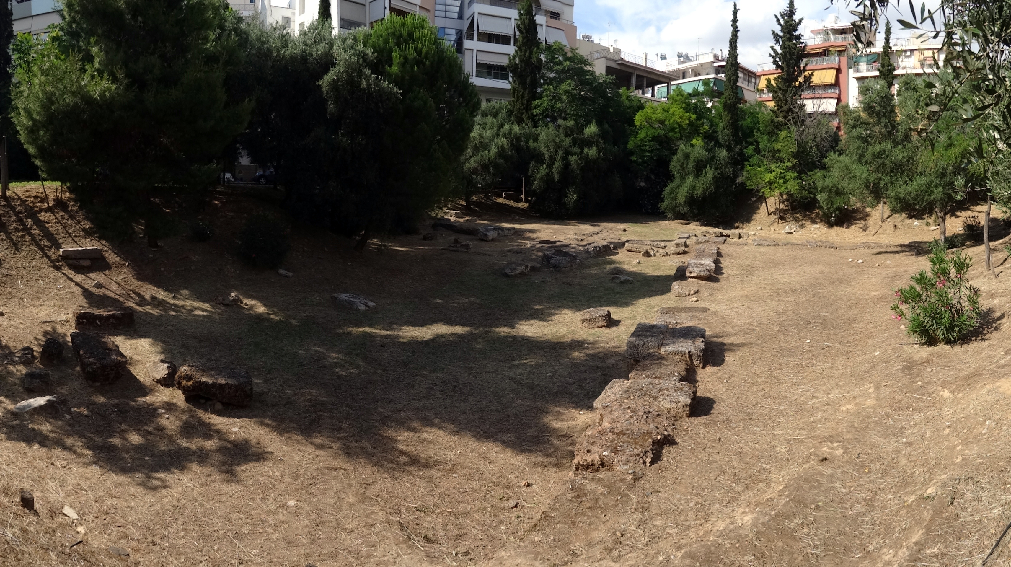 the archaeological site of plato u2019s academy in athens  u2013 rainer ebert