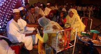 A wedding in Al Qadarif