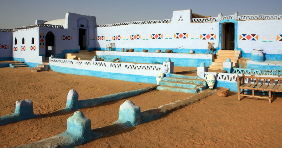 Aswan desert campsite