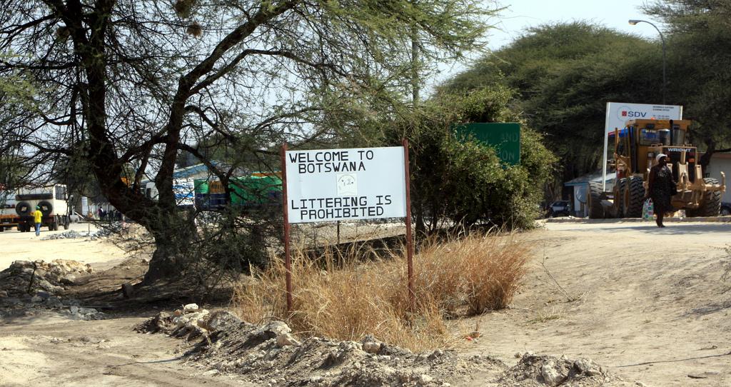 Botswana border
