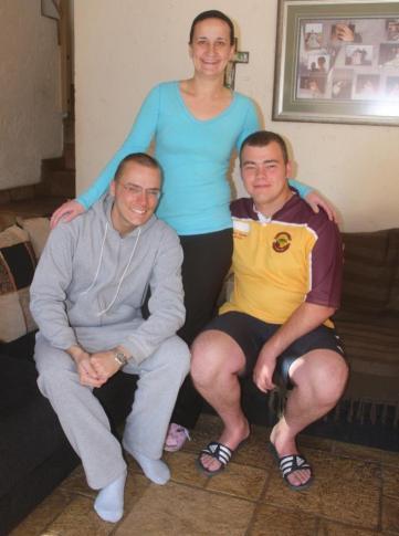 With Carla & Phillip