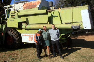 Khukie & I with Mr. Visser