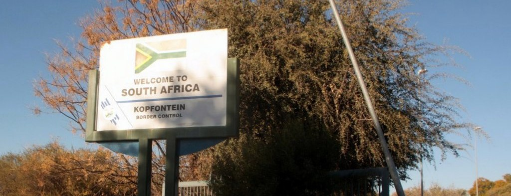 South Africa border