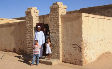 A family in Wadi Halfa