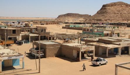 Wadi Halfa town center