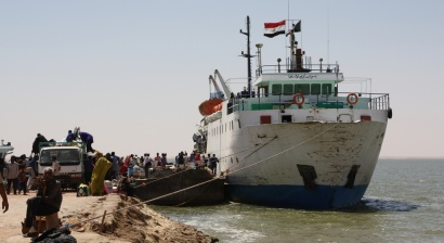 Lake Nasser ferry