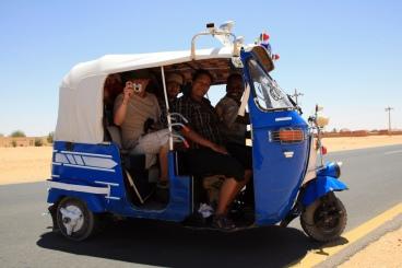 Public transport in Wadi Halfa