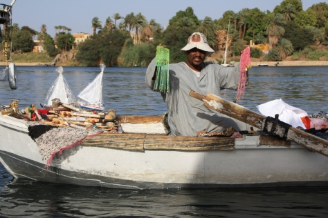 Boat shop in Aswan