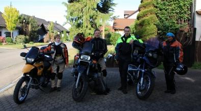Departure from Adelmannsfelden