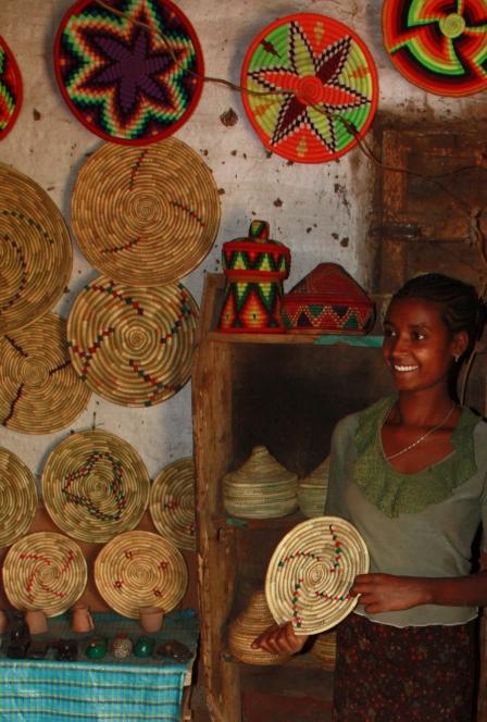 Ethiopian Jewish woman