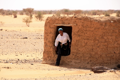In the Nubian Desert, somewhere between Wadi Halfa and the Sudanese capital of Khartoum