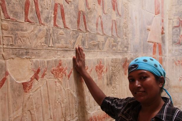 Inside the Pyramid of Teti