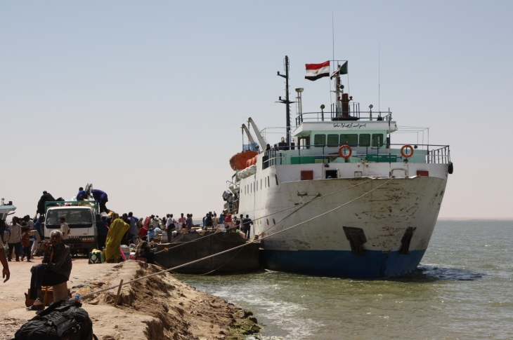 Lake Nasser (Nubia) ferry