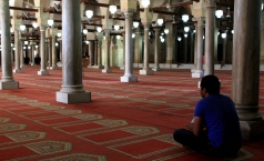 Main prayer hall of the Al-Azhar Mosque