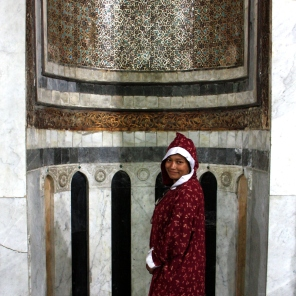 Mihrab in the main prayer hall of the Al-Azhar Mosque