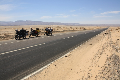 On the road from Cairo to Hurghada