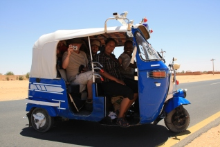 Public transport in Wadi Halfa