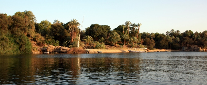 River Nile at Aswan