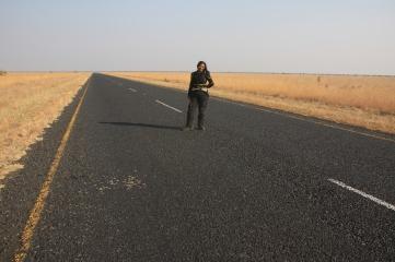 In the Botswanan Kalahari