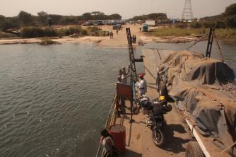 Kazungula Ferry Zambia-Botswana