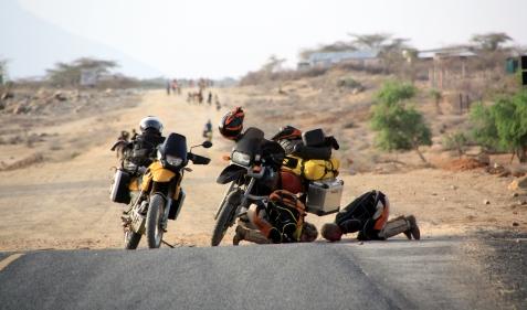 Near Isiolo, Kenya