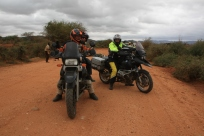 On the road from Moyale to Marsabit