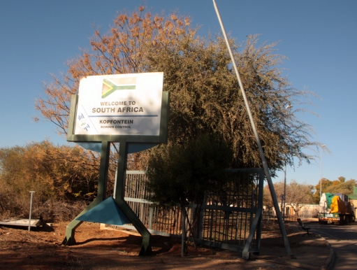 Kopfontein border crossing