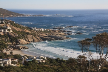 Scenic coastal road from Port Elizabeth to Cape Town