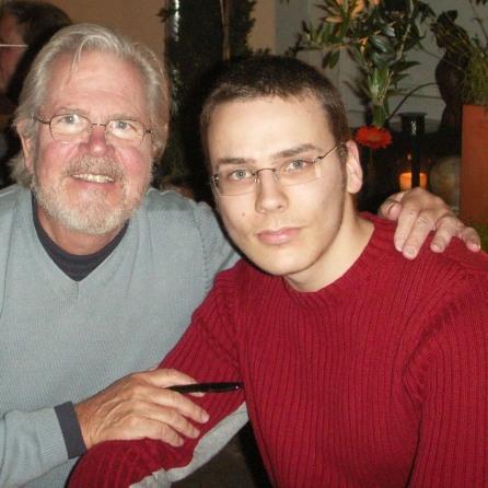 Tom Regan and I in Heidelberg in May 2006