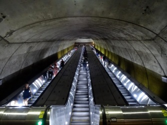 Bethesda metro station in Maryland