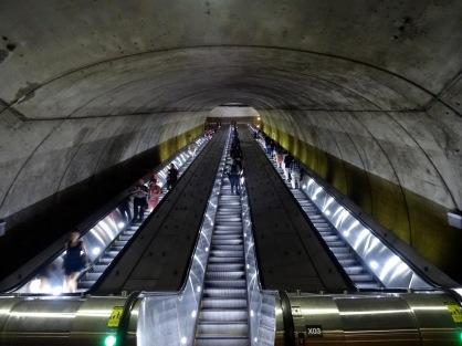 Bethesda metro station in Maryland