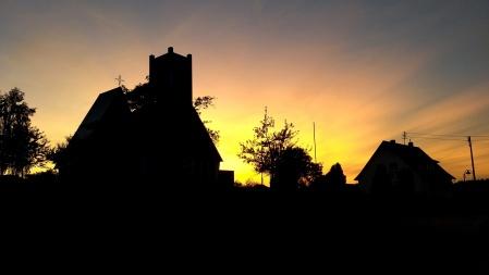Catholic church in Adelmannsfelden, Germany
