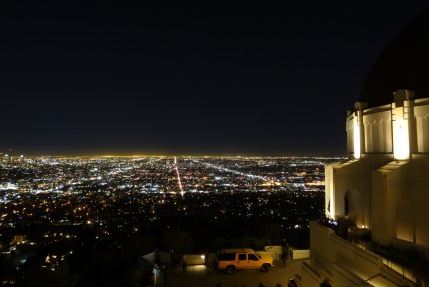 Griffith Observatory in Los Angeles, California