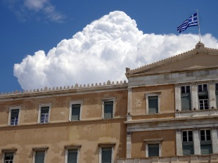 Hellenic Parliament in Athens