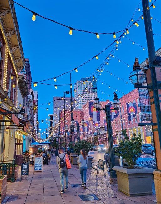 Larimer Square in Denver, Colorado