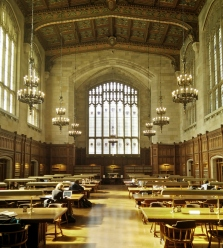 Law Library at the University of Michigan