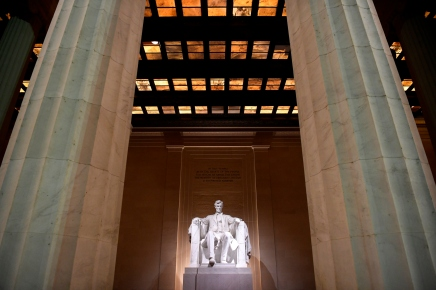 Lincoln Memorial in Washington, DC