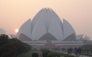 Lotus Temple in Delhi